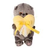 Басик BABY с желтым сердечком