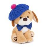 Пёс Шарик в голубом берете