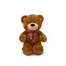 Медведь классический с бантом - музыкальная игрушка.