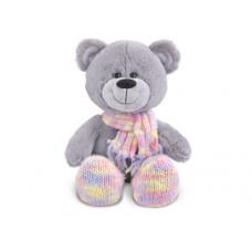 Мишка в шарфе и носочках - музыкальная игрушка.