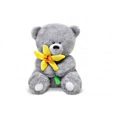 Медвежонок с нарциссом - музыкальная игрушка.