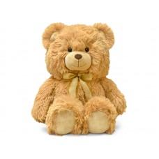 Медведь с декоративным бантом - музыкальная игрушка.