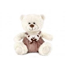 Медвежонок Сэмми в клетчатых штанишках - музыкальная игрушка.