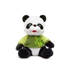 Панда в маечке с бамбуком  - музыкальная игрушка.