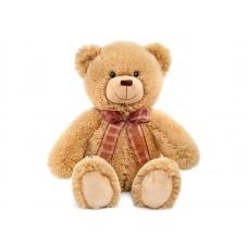 Медвежонок Эндрю коричневый - музыкальная игрушка