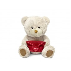 Медведь Берни с конвертом - музыкальная игрушка