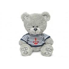 Медвежонок Ники в матроске с якорем - музыкальная игрушка.