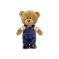 Медведь Оливер в вельветовых штанишках - музыкальная игрушка.