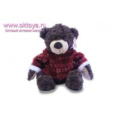 Медведь Семен в красной куртке