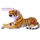Тигр с открытой пастью