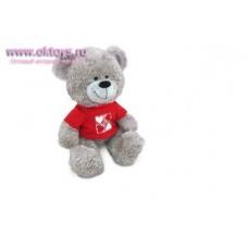 Медведь в кофточке с сердечками