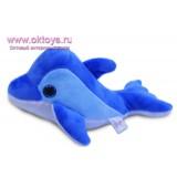 Дельфин синего цвета