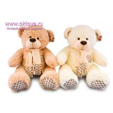 Медведь с клетчатыми пяточками - музыкальная игрушка