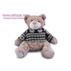 Медведь Семен в синем свитере