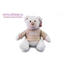 Медведь Семен в бежевом свитере