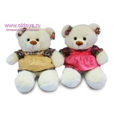 Медведица в рубашке и сарафане - музыкальная игрушка