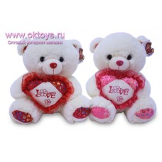 """Медведь с сердцем с надписью """"Love"""""""