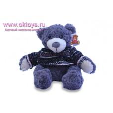 Медведь Семен серый в свитере