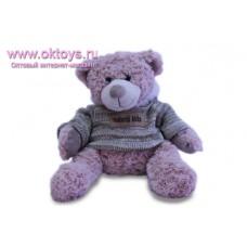 Медведь Семен в свитере с капюшоном