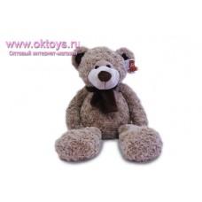 Медведь Семен с бантом и длинными ногами