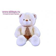 Медведь в галстуке в горошек