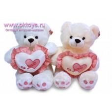 Медведь с пушистым сердечком