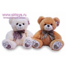 Медведь с пестрым бантом