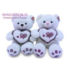 Медведь с цветочным сердцем