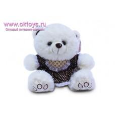 Медведица в платье с манишкой
