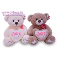 Медведь с меховым сердцем *LOVE*
