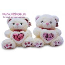 Медведь с меховым сердцем - музыкальная игрушка
