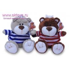 Медведь Тема в полосатой футболке - музыкальная игрушка