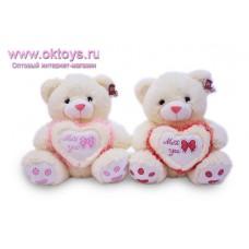 Медведь с сердечком *Miss You*