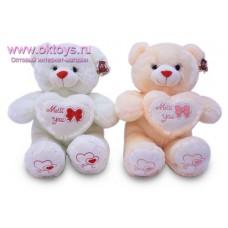 Медведь с двойным сердцем на пятках
