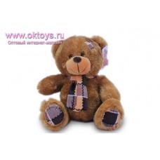 Медведь с заплаткой на голове