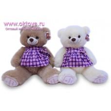 Медведица в фиолетовом платье