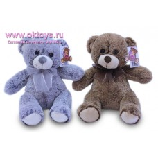 Медведь с бантом - музыкальная игрушка