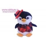 Пингвин мальчик в жилетке и шляпе