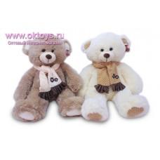 Медведь в шарфе с оборками
