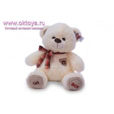 Медведь со значком