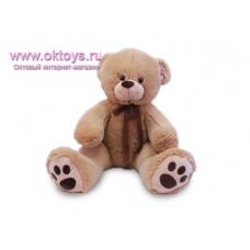Медведь с коричневой лентой - музыкальная игрушка
