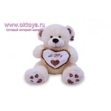 Медведь c сердечком *OK Toys* - музыкальная игрушка