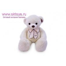 Медведь с белым бантом - музыкальная игрушка