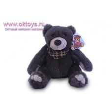 Бурый медведь Семен с платком на шее