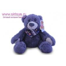 Коричневый медведь Семен с платком на шее