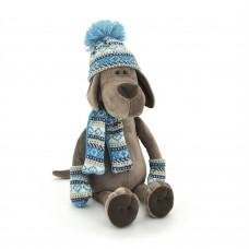 Пёс Барбоська в шапочке