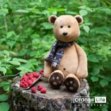 Медвежонок Медок в шарфике
