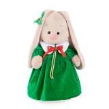 Зеленое рождественское платье для Зайки Ми девочки